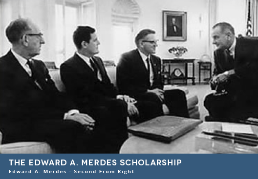 The Edward A. Merdes Scholarship